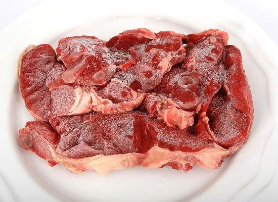 Rindfleisch kalt